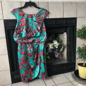 Jessica Simpson flower print dress size 6